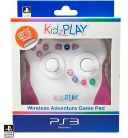 KidzPLAY Wireless Adventure Game Pad - Pink (PS3)