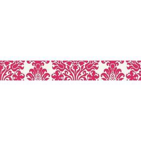 KaiserCraft Printed Adhesive Tape - Pink Damask