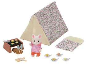 Sylvanian Family Seaside Camping Set