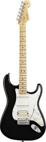 Fender American Standard Stratocaster Electric Guitar Maple Fretboard - Black