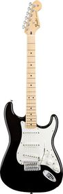 Fender Standard Stratocaster Electric Guitar - Maple Fretboard - Black