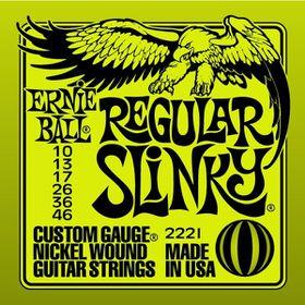 Ernie Ball 2221 Regular Slinky Nickel Wound Set (10 - 46)