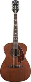 Fender Tim Armstrong Hellcat Concert Acoustic Electric Guitar - Natural