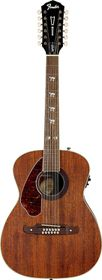Fender Tim Armstrong Hellcat-12 Left Hand 12 String Acoustic Electric Guitar - Natural