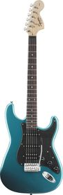 Squier by Fender Electric Guitar Affinity Series Stratocaster HHS - Lake Placid Blue