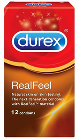 Durex Real Feel Condoms 12's