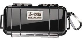 Pelican 1030 Micro Solid Case - Black
