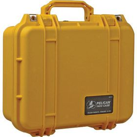 Pelican 1400 Case - Yellow