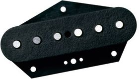 DiMarzio DP418BK Area T Bridge Replacement Electric Guitar Pickup For Fender Tele - Black