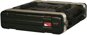 Gator GR-2S Molded PE 2U Audio Rack Case Shallow