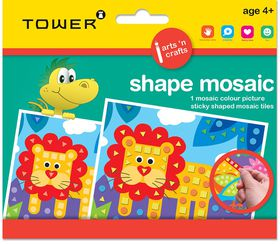 Tower Kids Shape Mosaic - Lion