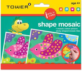 Tower Kids Shape Mosaic - Fish
