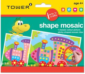 Tower Kids Shape Mosaic - Train