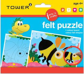 Tower Kids Felt Puzzle - Bee