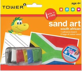 Tower Kids Sand Art South African - Flag