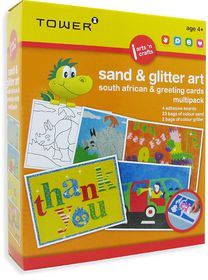 Tower Kids Multipack - Sand Art South African & Greeting Cards