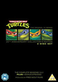 Teenage Mutant Ninja Turtles: 25th Anniversary - (Import DVD)