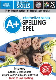 Edupro A+ Interactive Series Spelling