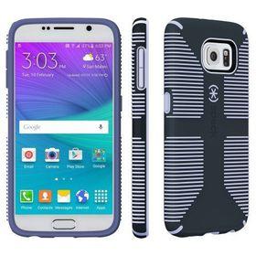 Speck Galaxy S6 Candyshell Grip - Gray/Purple