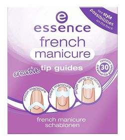 Essence French Manicure Creative Tip Guides - No.02