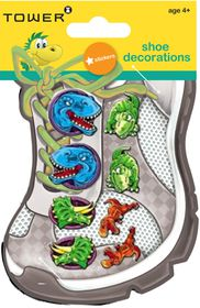 Tower Kids Shoe Decorations - Dinosaurs 4