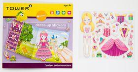 Tower Kids Dress-up Stickers - Princess Yellow