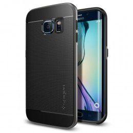 Spigen Case Neo Hybrid for Samsung S6 Edge - Gunmetal