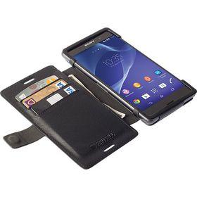 Krusell Malmo FlipWallet for Sony Xperia Aqua M4/Aqua M4 Dual - Black