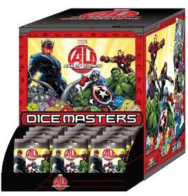 Marvel Dice Masters Avengers Age Of Ultron - 90 Count Gravity Feed Display