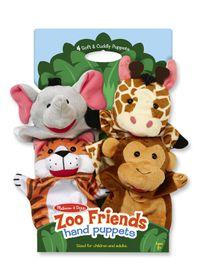 Melissa & Doug Zoo Friends hand Puppet