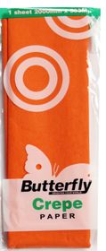 Butterfly Crepe Paper 1 Sheet - Orange (C15)