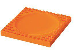 Placematix Kids - Plate - Orange