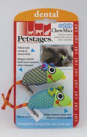 Petstages - Cat Toy Catnip Chew Mice