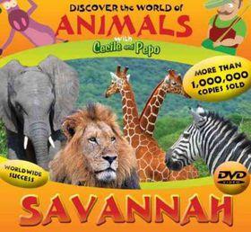 Discover the World of Animals:Savanna - (Region 1 Import DVD)