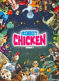 Robot Chicken:S4 - (Region 1 Import DVD)