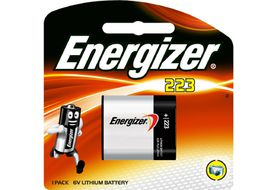 Energiser Photo Lithium 6v 223 Battery