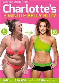 Charlotte Crosby 3 Minute Belly Blitz (Import DVD)