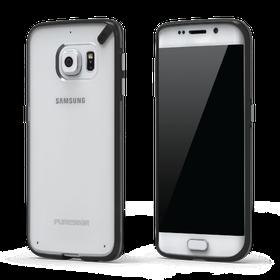 PureGear Slim Shell Case for Samsung S6 Edge - Clear/Black