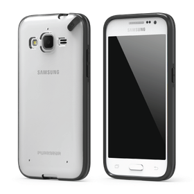 PureGear Slim Shell Case for Samsung Galaxy Core Prime - Clear/Black