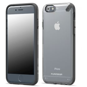 "PureGear Slim Shell 4.7"" Case for iPhone 6 - Clear Black"