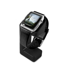Tuff-Luv Moulded Charging Stand for Apple Watch - Black
