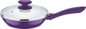 Wellberg - 24 cm Frypan With Lid - Purple