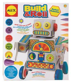Alex Build & Roll - Robot