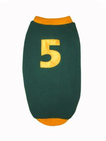 Kunduchi -  Green & Gold Sport Jersey - Size 12