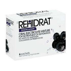 Rehydrate Blackcurrant - Pack of 6
