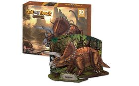Cubic Fun Triceratops - 41 Piece