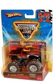 Hot Wheels 1:64 Monster Jam Vehicles - El Toro Loco