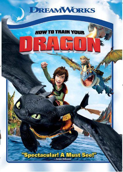 How To Train Your Dragon (2010)(dvd) | Buy Online in South ...