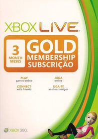 Xbox 360 Live 3 Month Gold Card (SA)