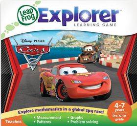 LeapFrog - Explorer Game - Disney Pixar Cars 2